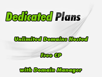 Popularly priced dedicated server account
